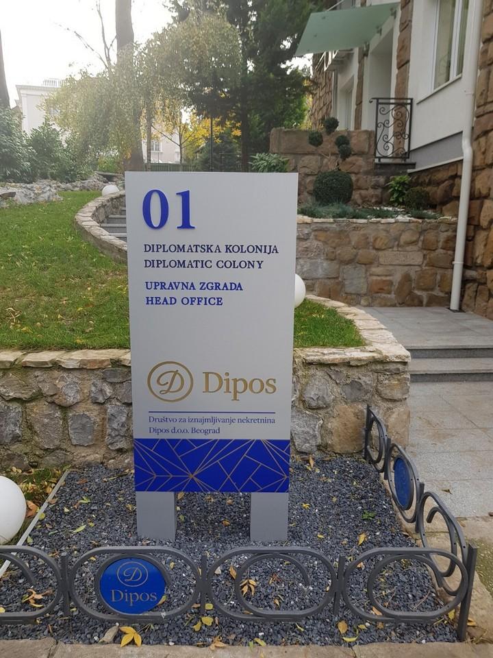 dipos, diplomatska kolonija dedinje, beograd nekretnine, dipos nekretnine