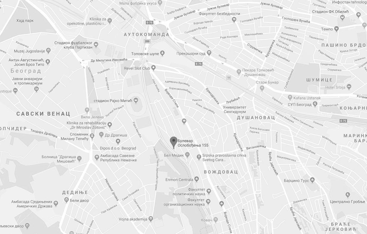 Bulevar Oslobodjenja Dipos Bulevar Osobolođenja Flat